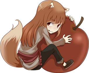 Apple Holo - Spice and Wolf by Ergh3