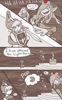 minish cap - kinstone comic by RasTear