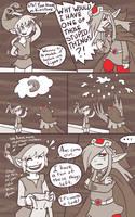 minish cap - kinstone comic 2 by RasTear