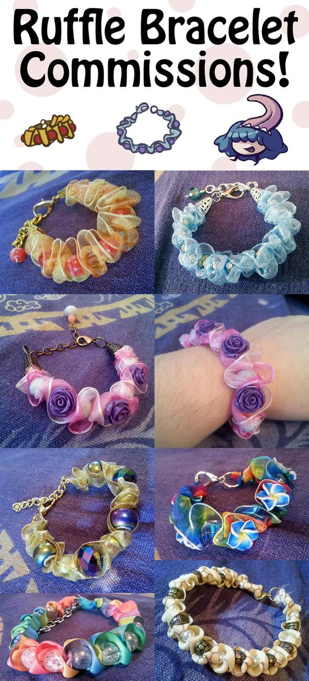 Custom Bracelet Commissions by RasTear