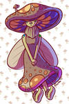 Mushroom fairy by RasTear