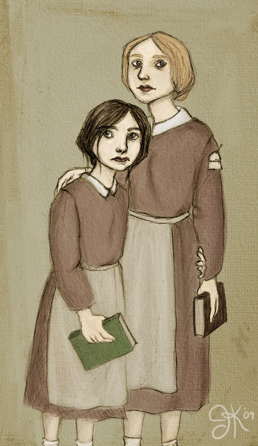 jane eyre helen burns character analysis Charlotte brontë's jane eyre characters in jane eyre helen burns: jane's friend at lowood school who submits to cruelty from her teacher.
