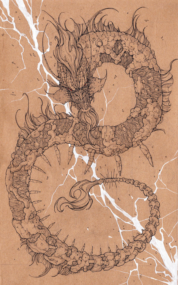 random dragon by sgulongga