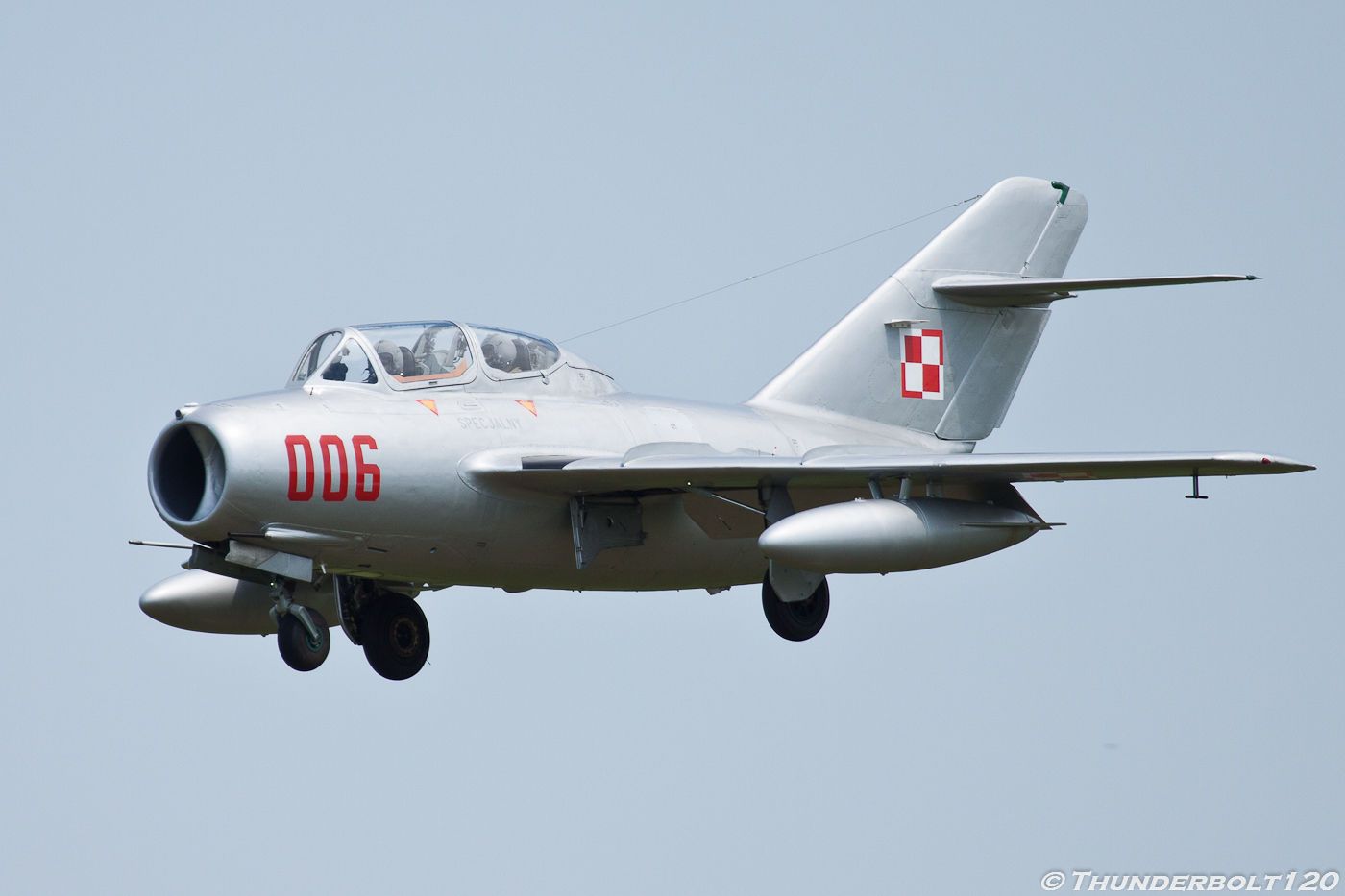 Mig-15 UTI SP-YNZ