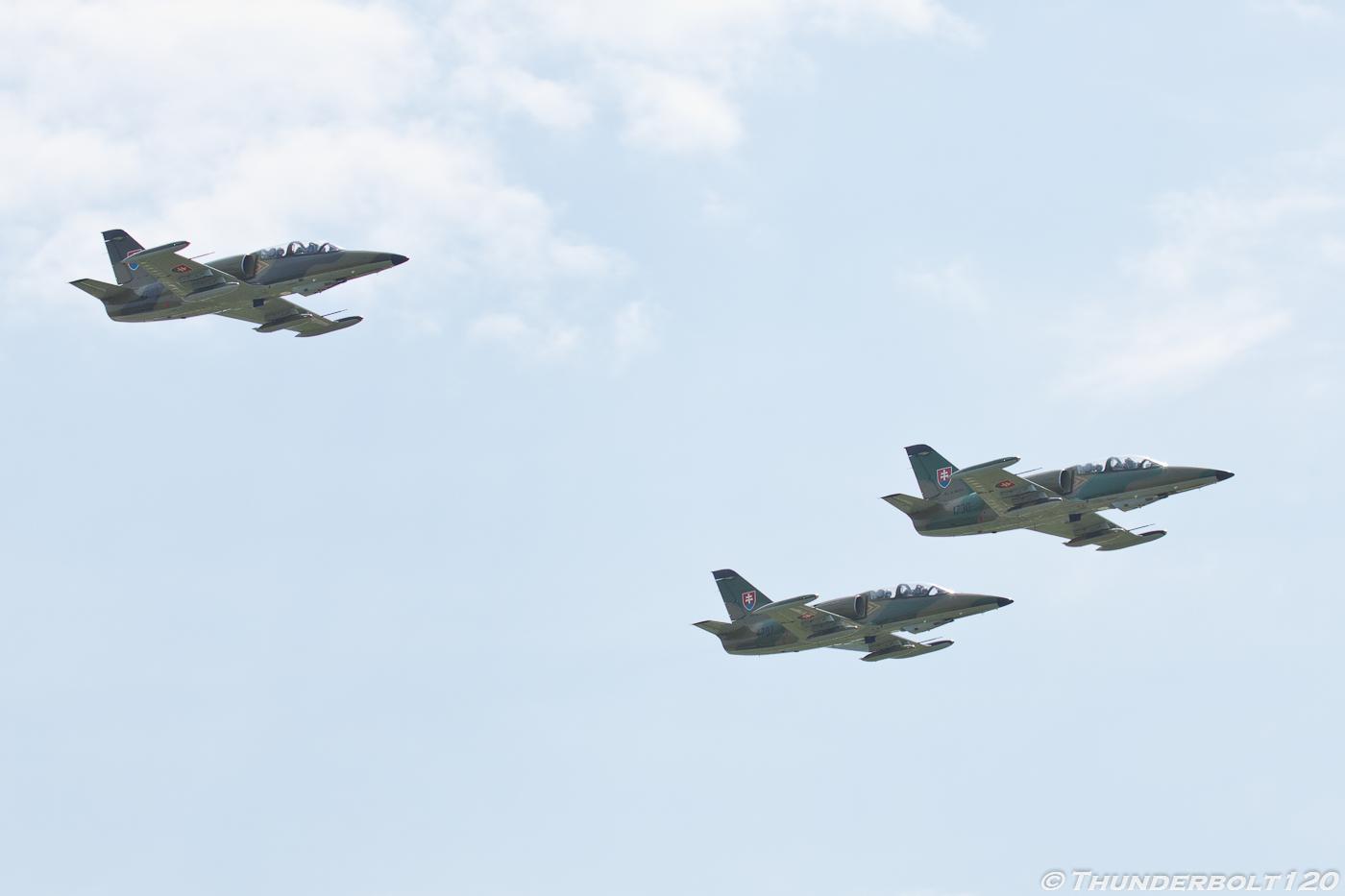 3x L-39ZA Albatros