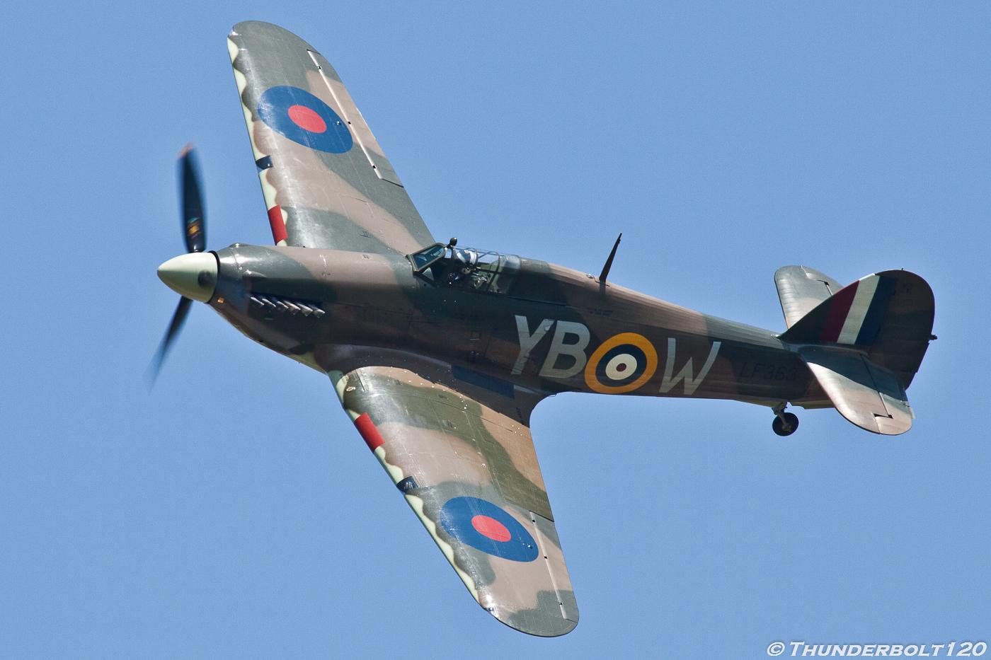 Hawker Hurricane Mk.IIC YB-W