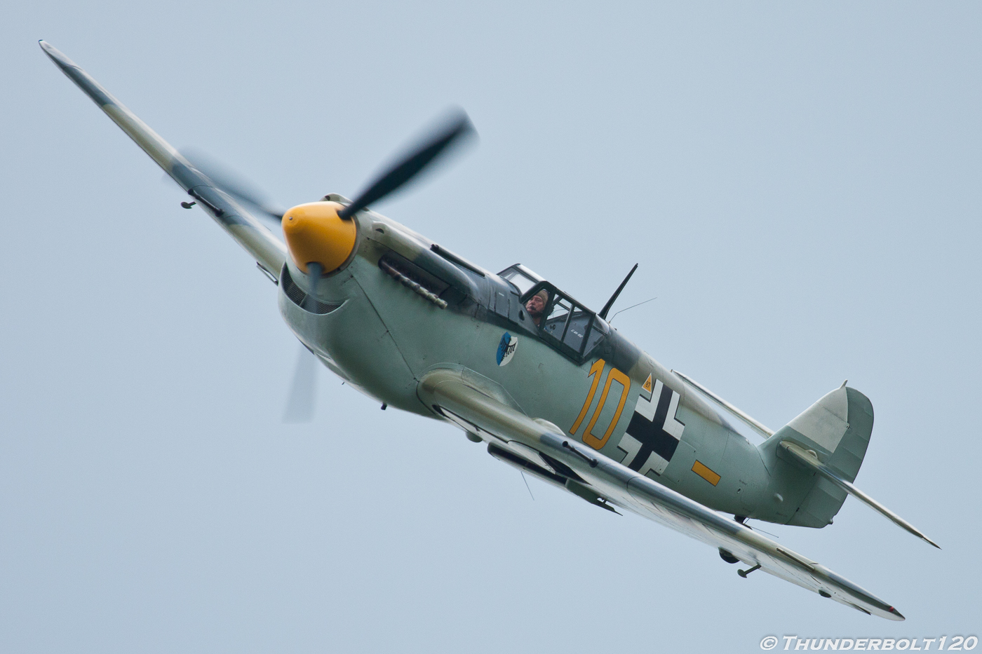 Hispano HA-1112-M1L G-BWUE