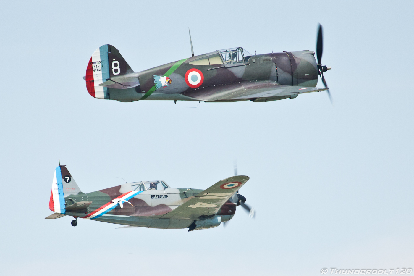 Curtis hawk 75 Morane-Saulnier