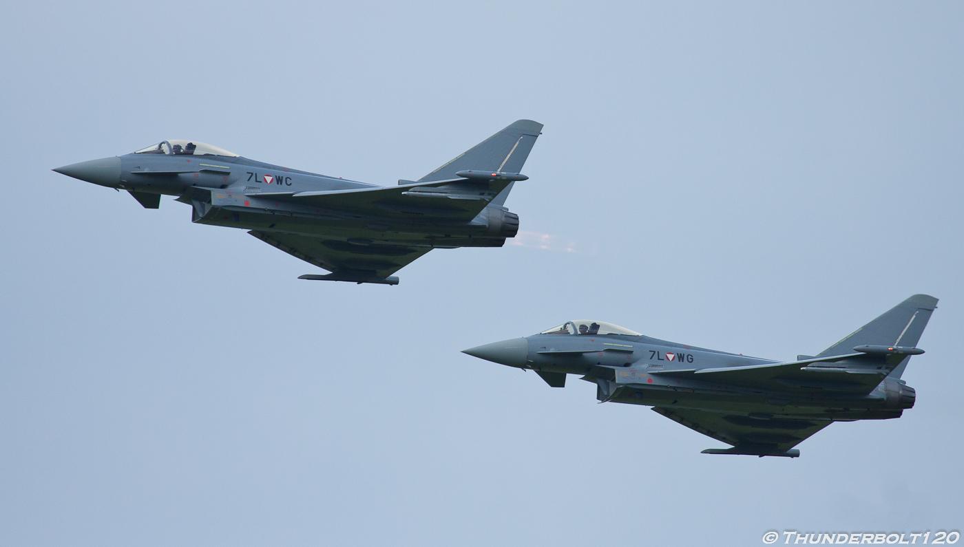 2x Eurofighter Typhoon