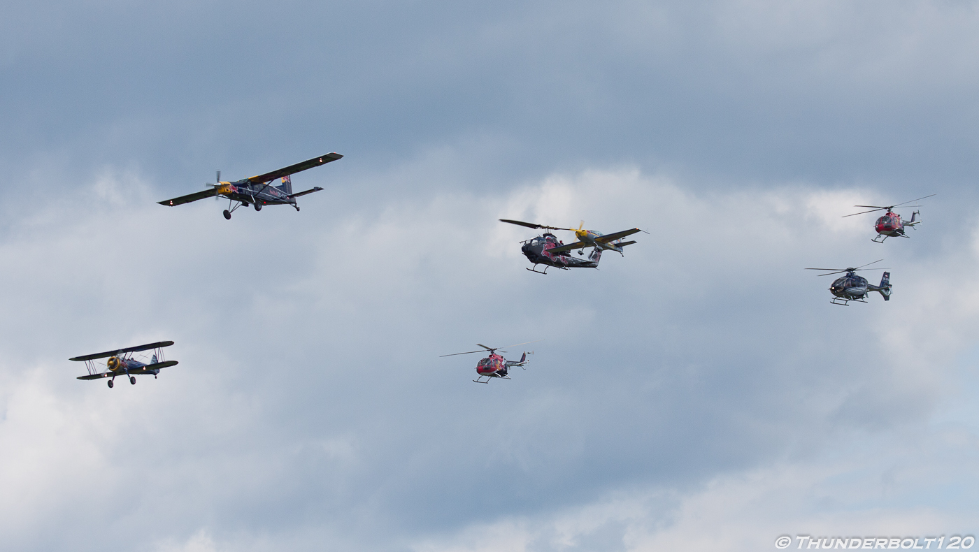Red Bull mass flight