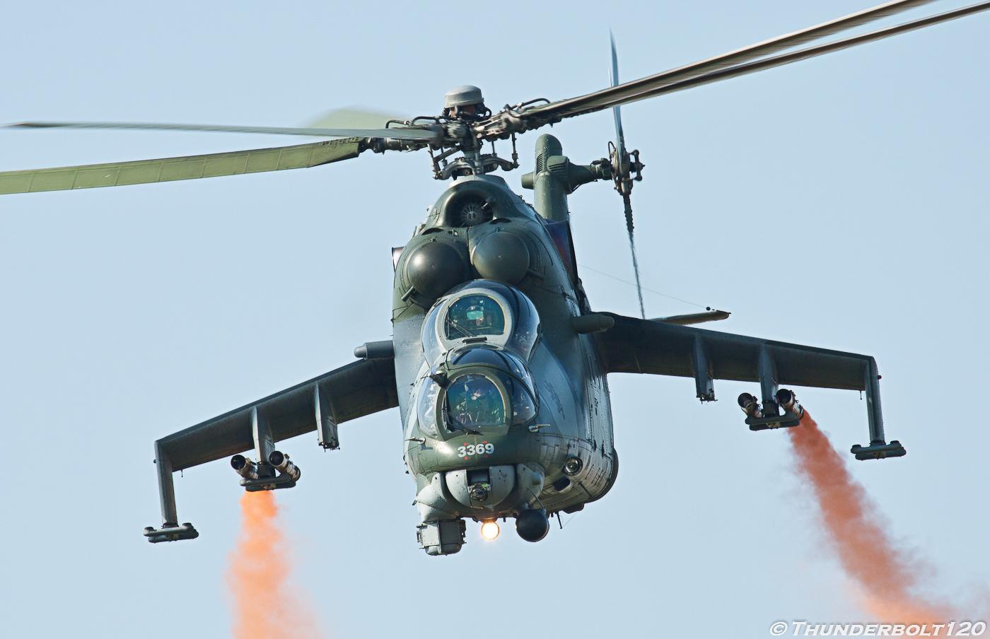 Mi-24V Hind 3369