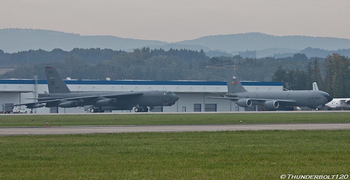 KC-135 and B-52