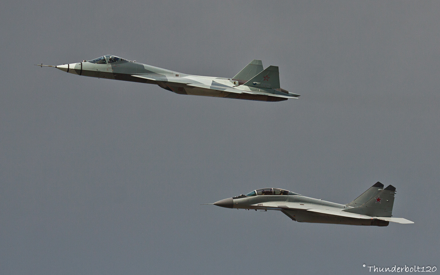 T-50 and Mig-29M2