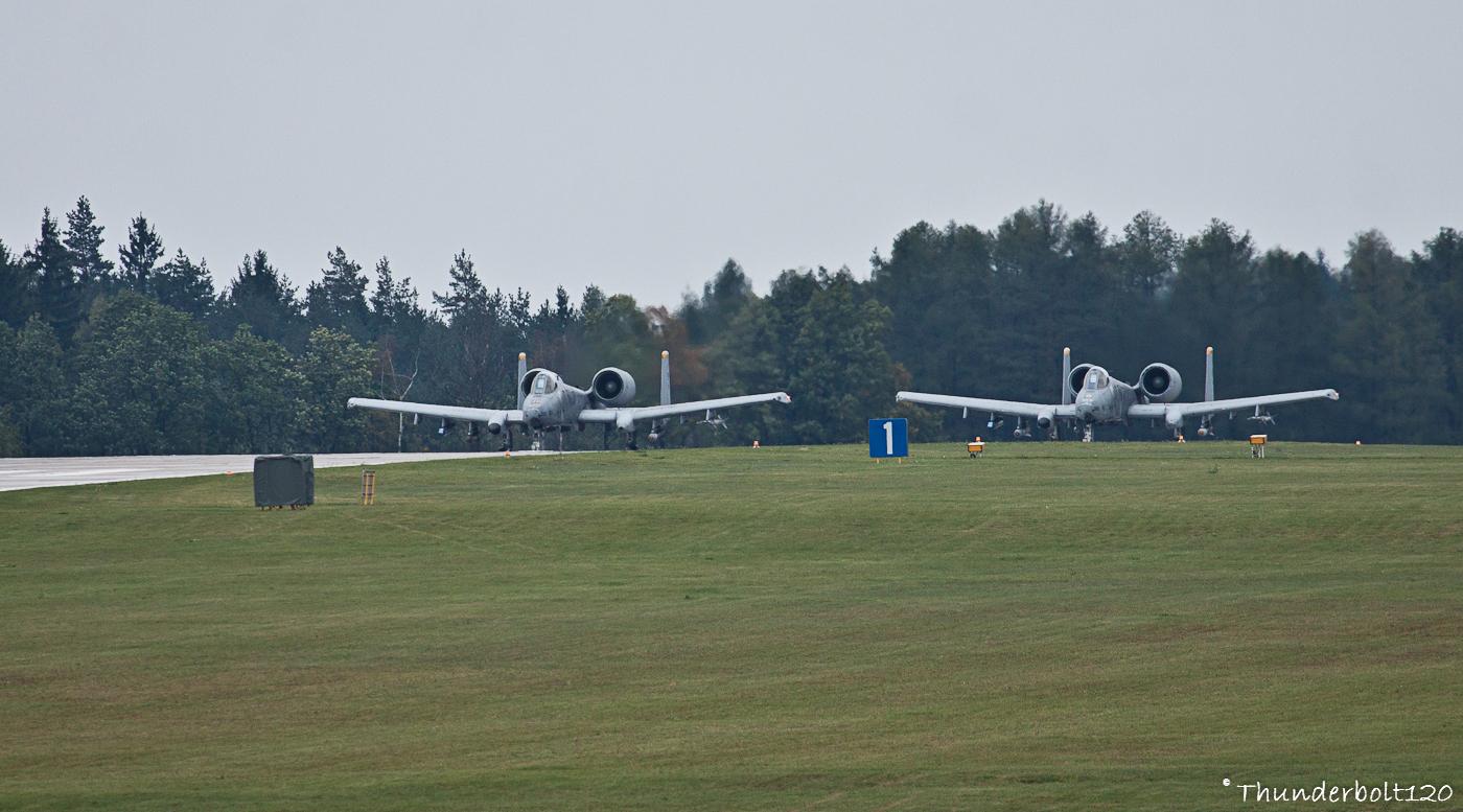 2x A-10C Thunderbolt II
