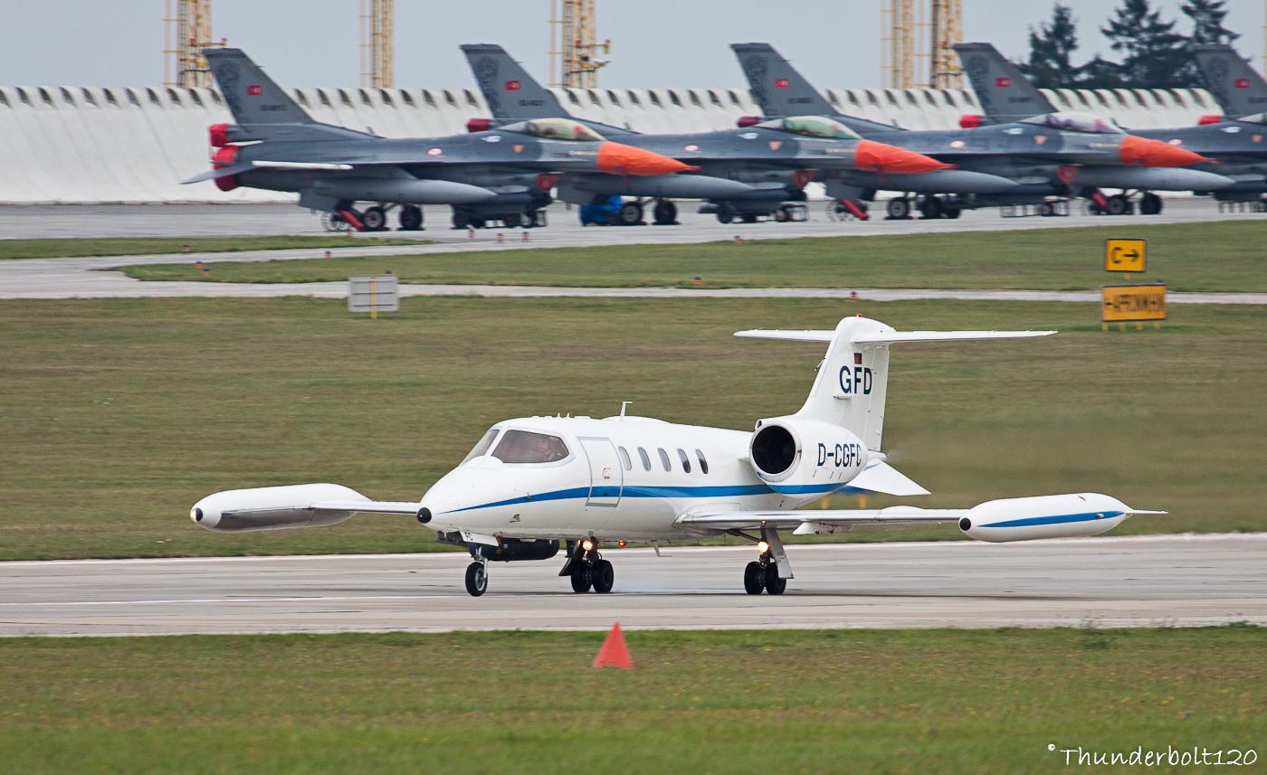 Learjet UC-35A D-CGFC