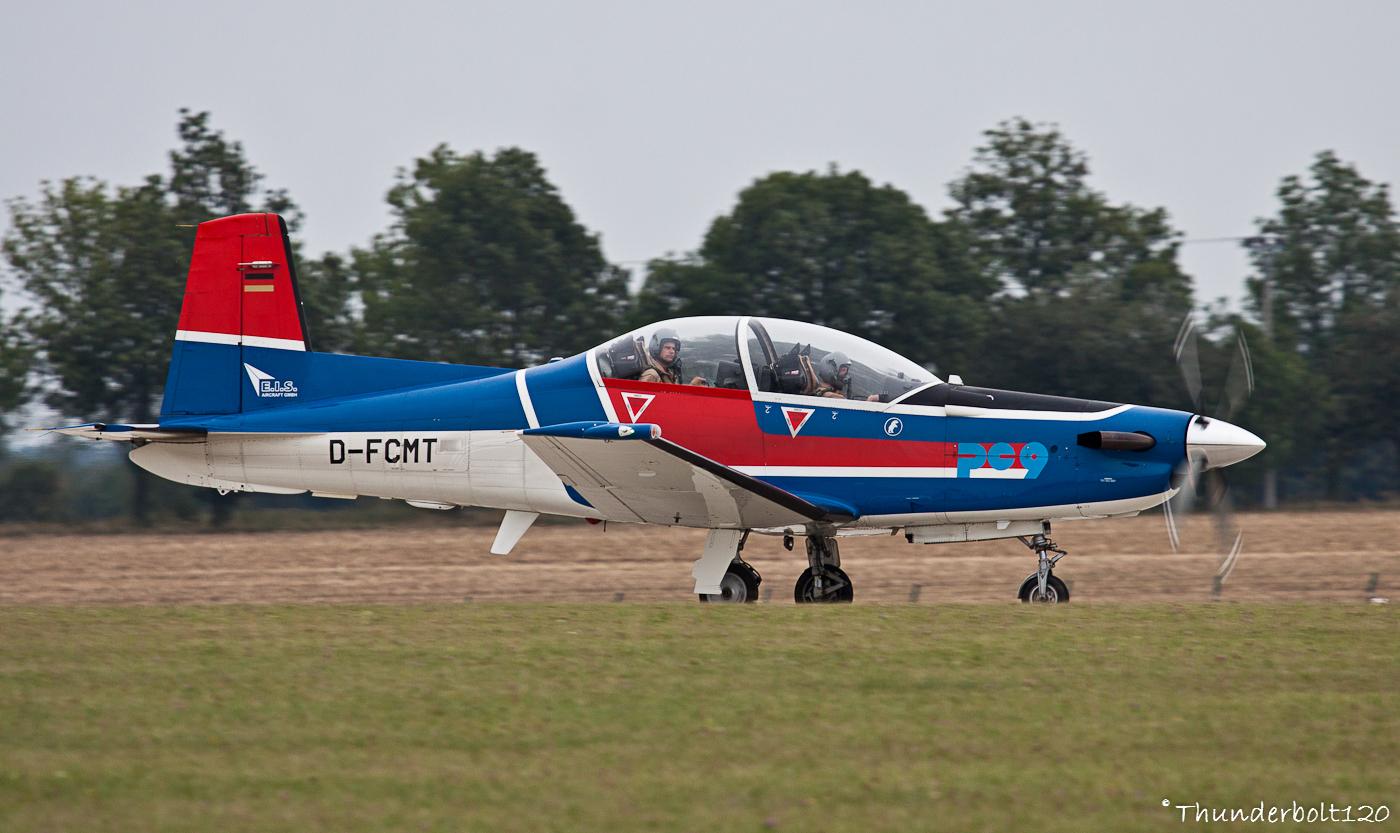 Pilatus PC9 D-FCMT