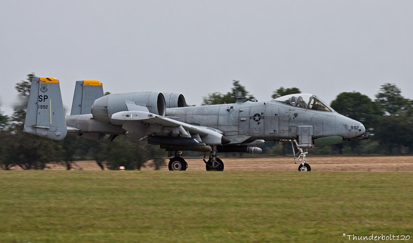 A-10C Thunderbolt II 81-0992