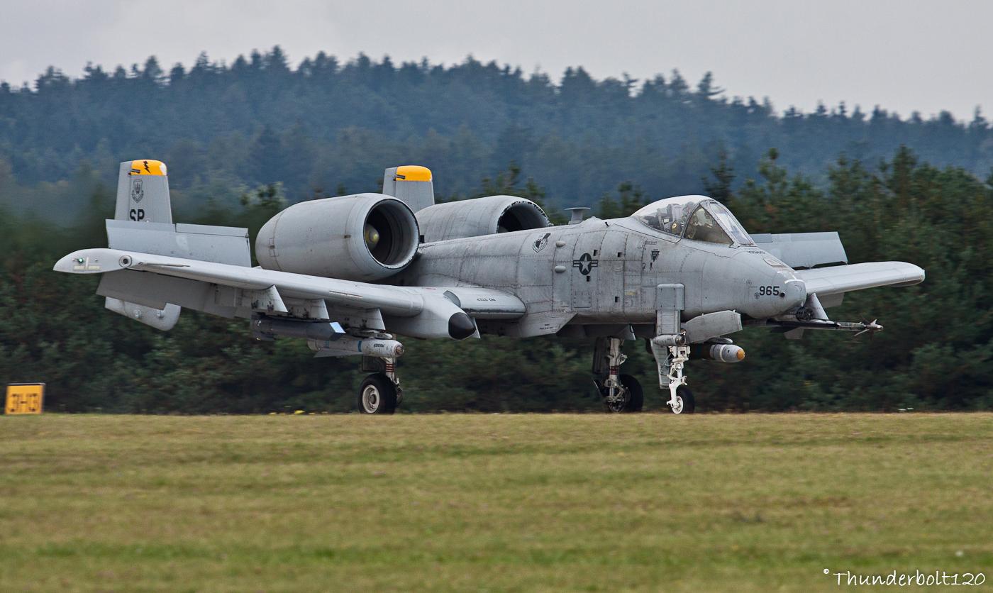 A-10C Thunderbolt II 81-0965k