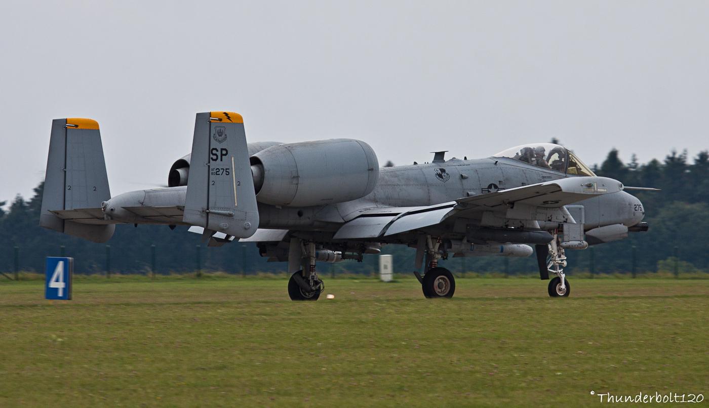 A-10C Thunderbolt II 80-0275