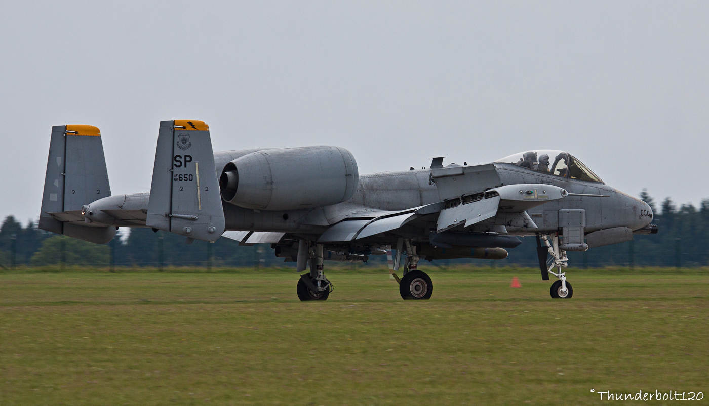 A-10C Thunderbolt II 82-0650