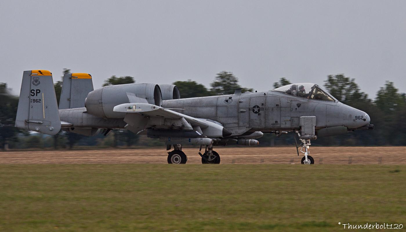 A-10C Thunderbolt II 81-0962