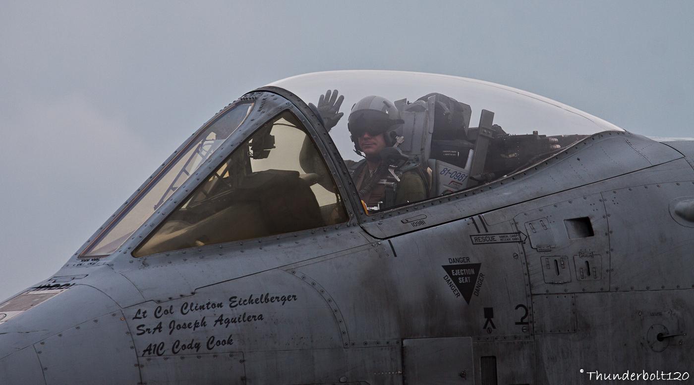 A-10C Thunderbolt II 81-0981