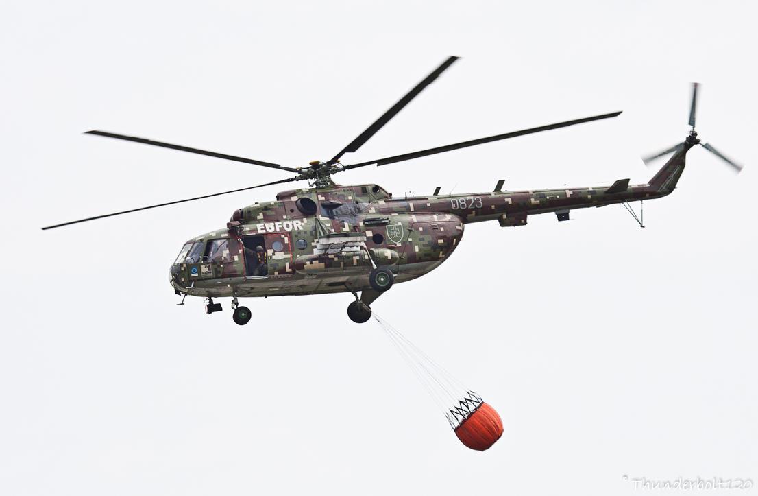 Mi-17 Hip 0823 by Thunderbolt120