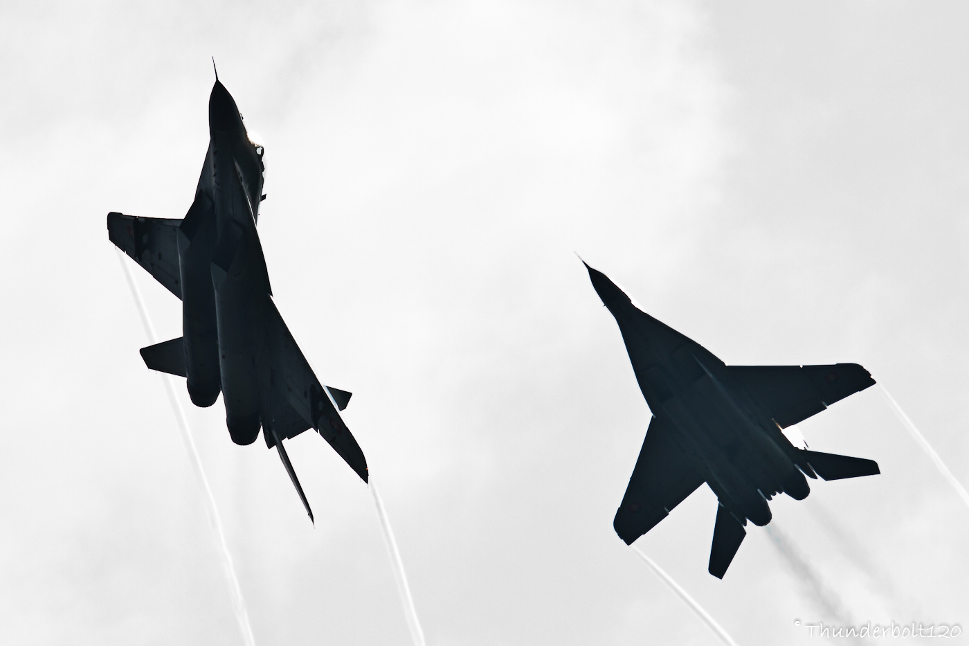 Mig-29AS Dogfight