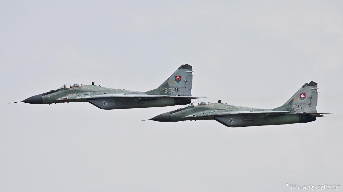 2x Mig-29AS