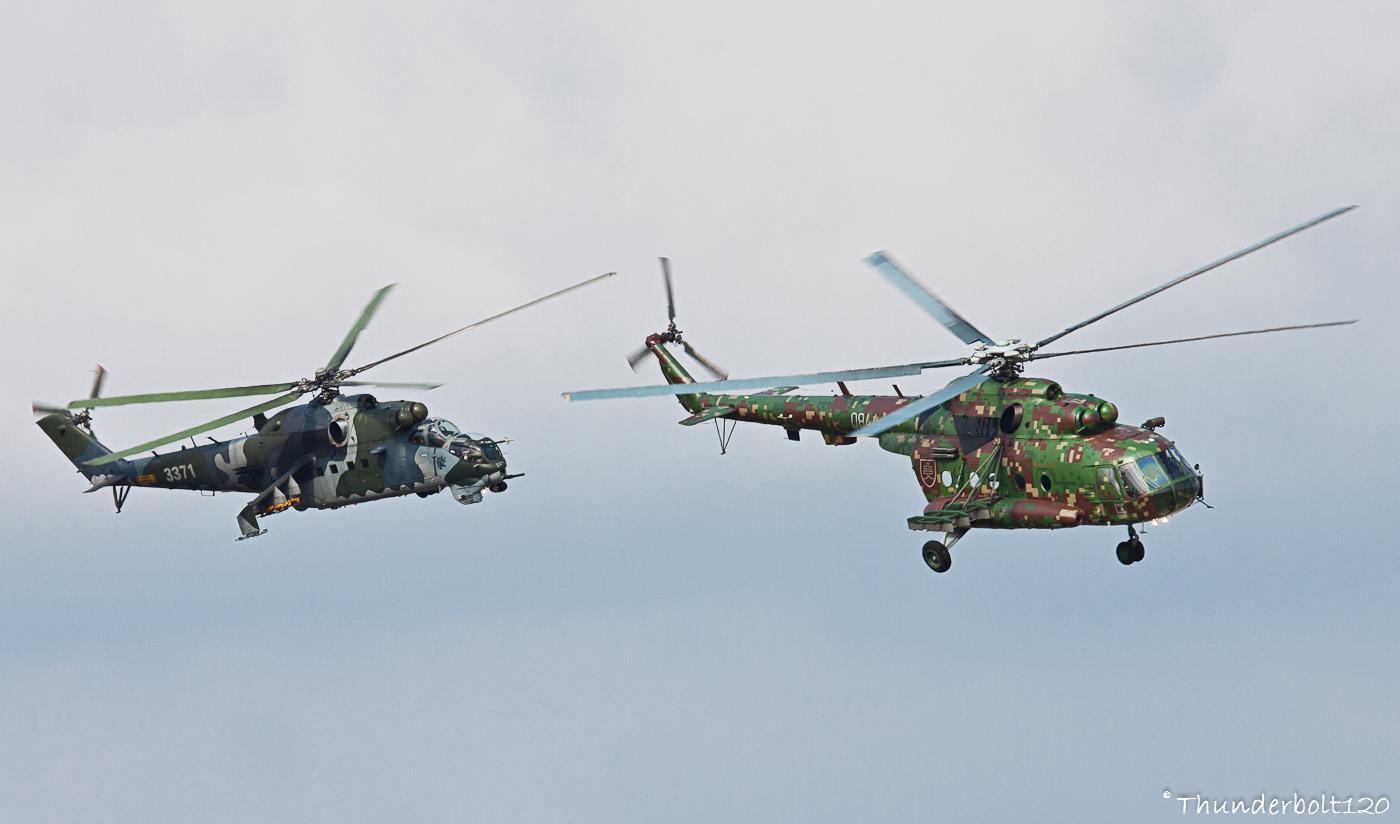 Mi-17 and Mi-24