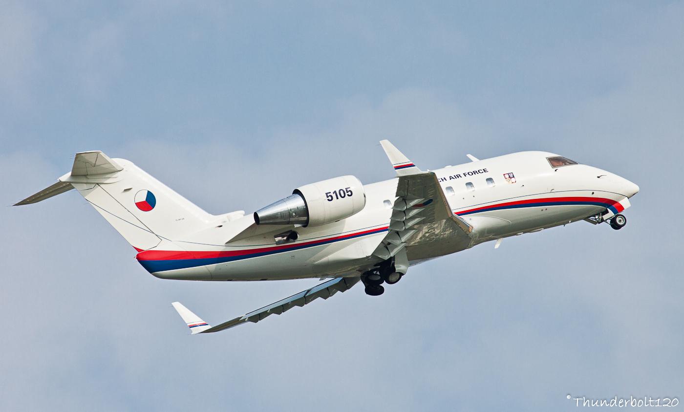 Canadair CL-600 Challenger 601 5105