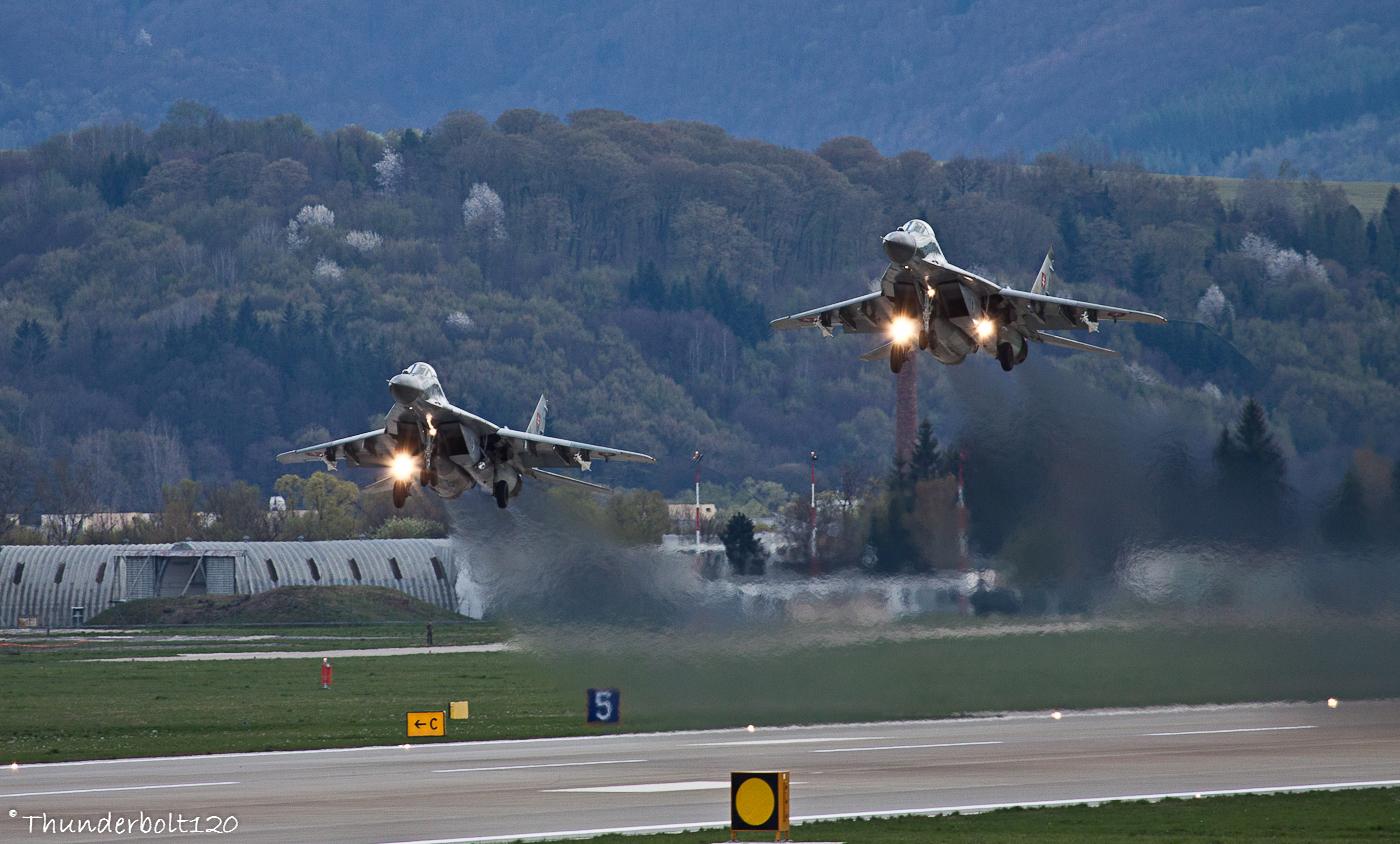 2x Mig-29AS QRA
