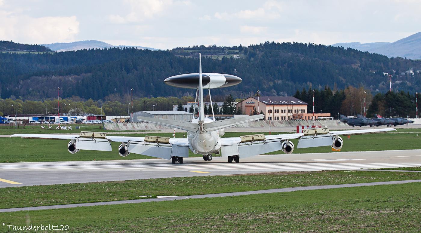 Boeing - E-3 Sentry LX-N90456