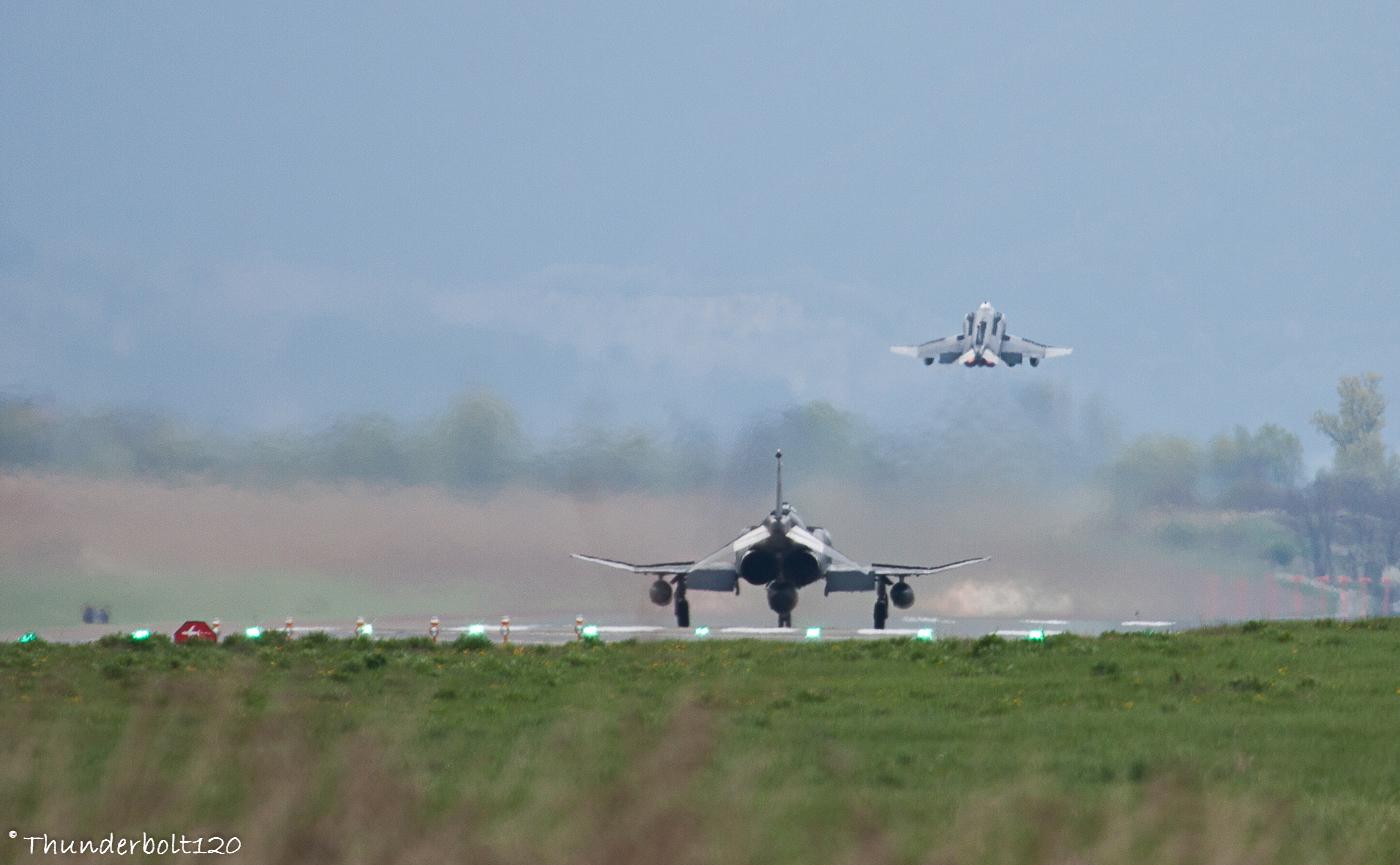 F-4 Phantom II taking off