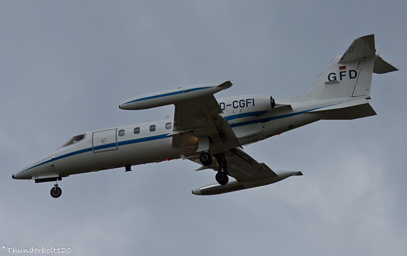 Learjet 35A D-CGFI