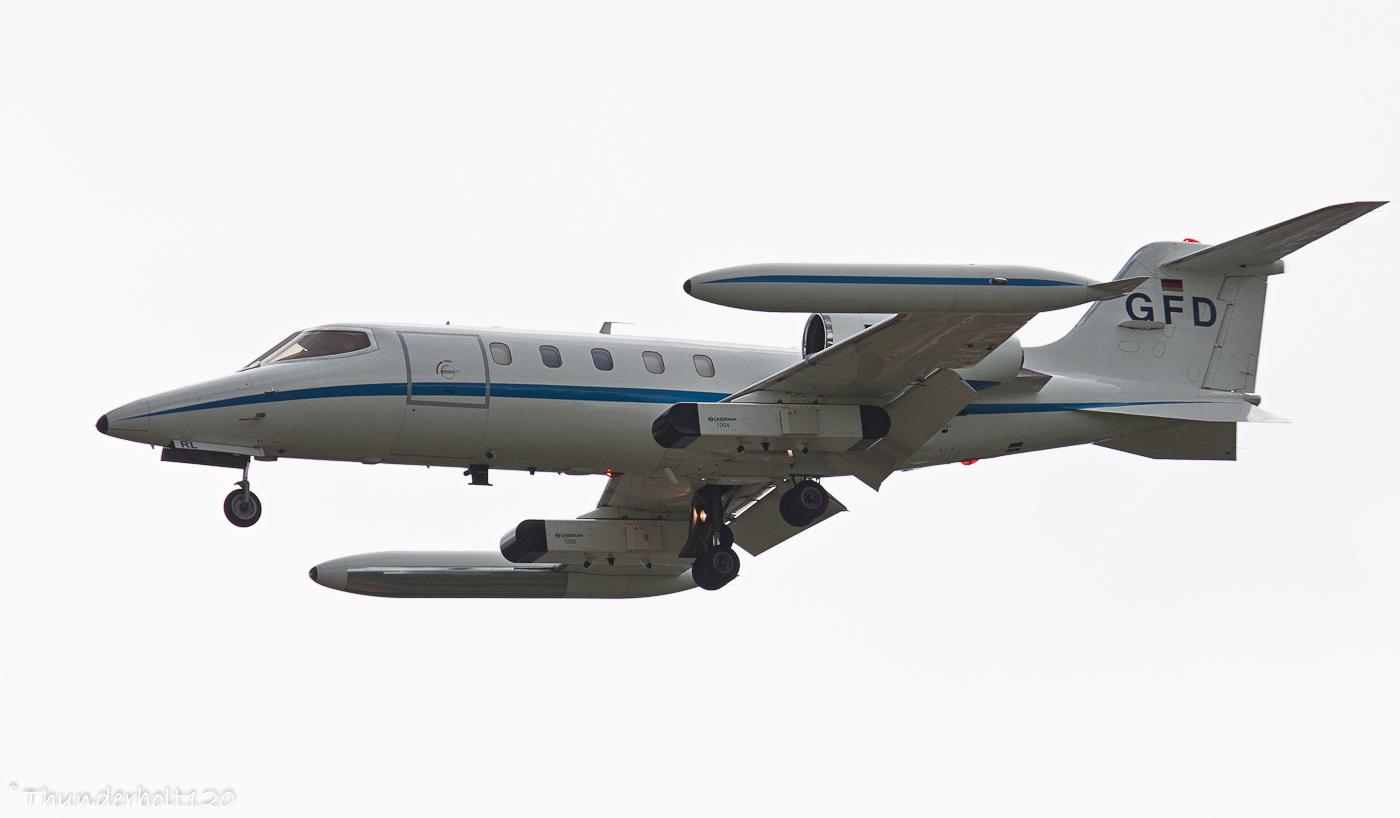 Learjet 35A D-CARL