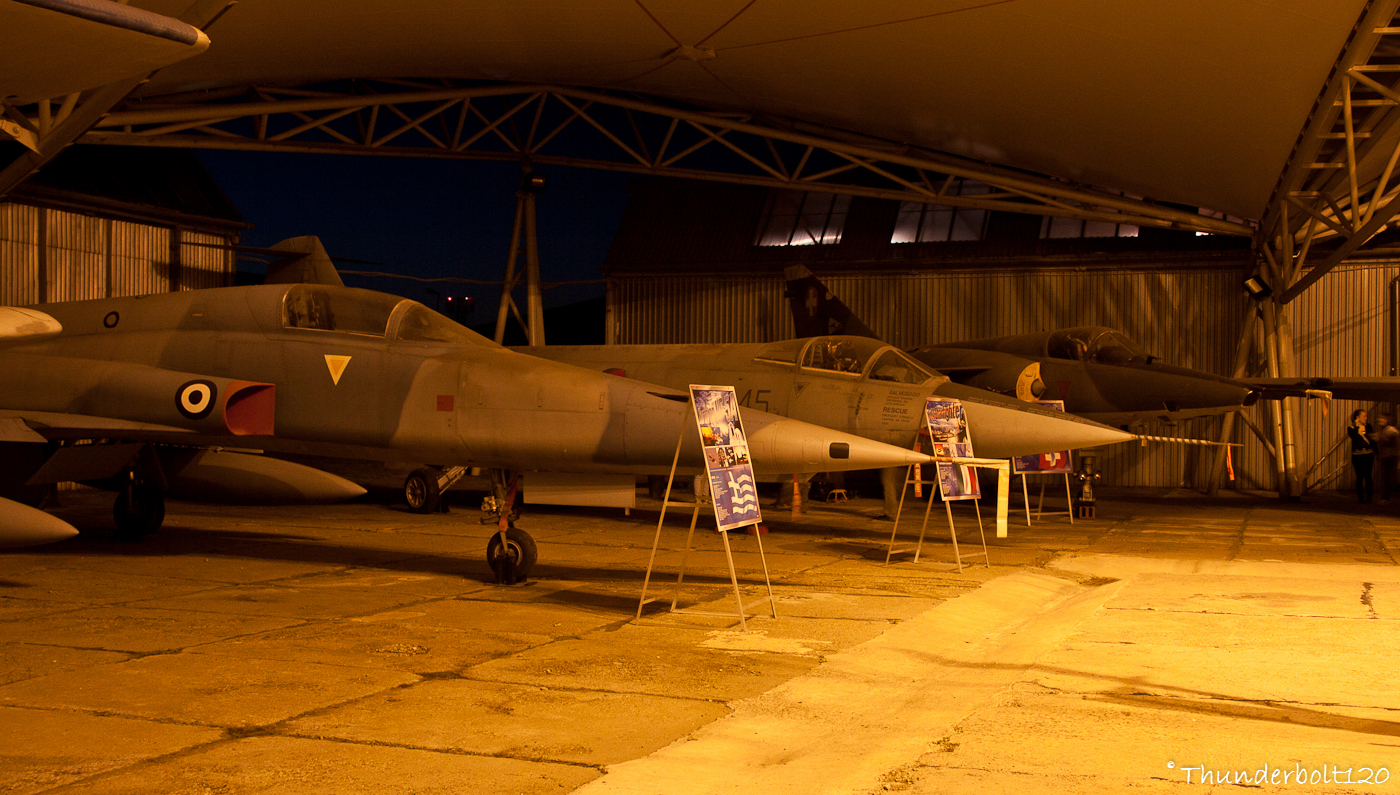 NF-5A and F-104S and Mirage 3RS