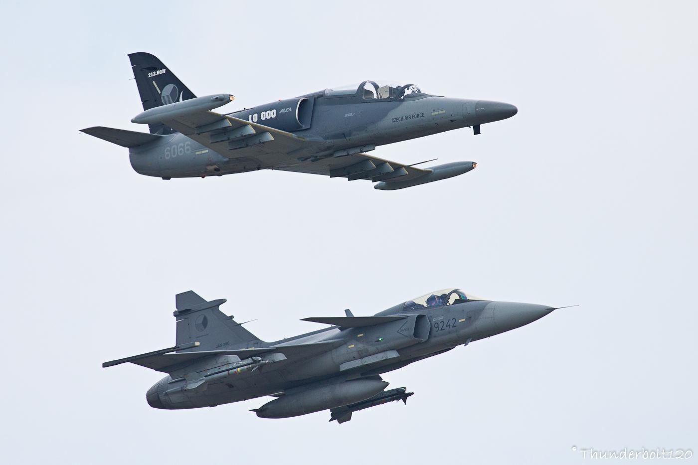 L-159A ALCA and JAS-39C Gripen