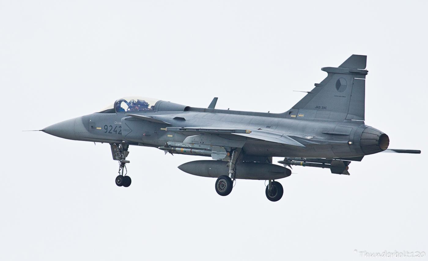SAAB JAS-39C Gripen 9242