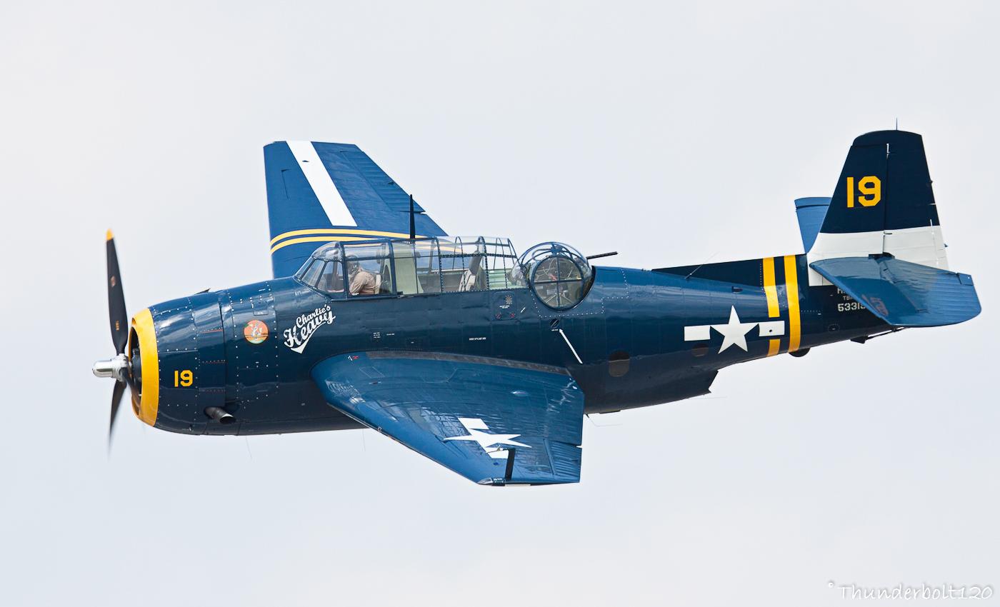 Grumman TBM-3 Avenger HB-RDG