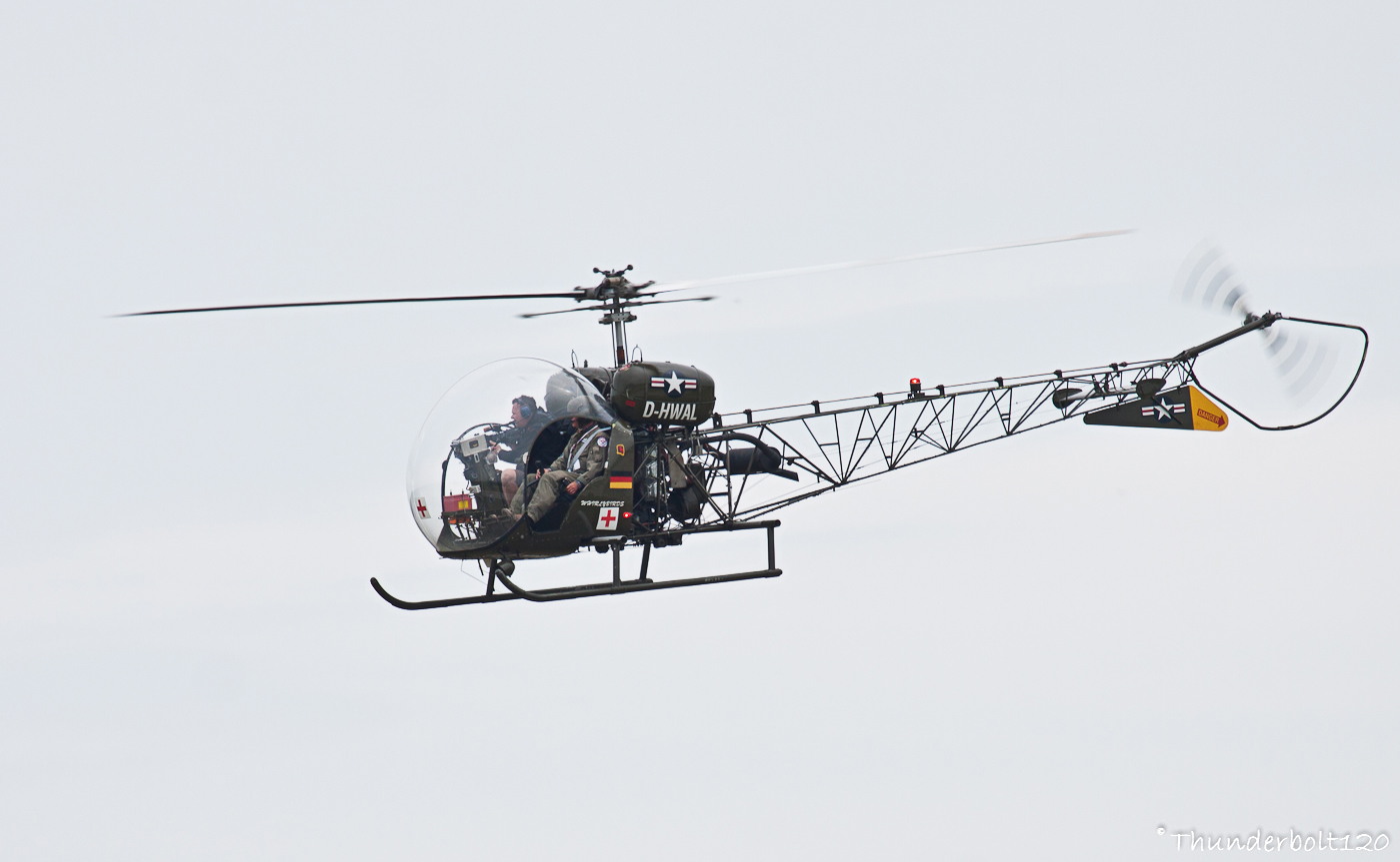 Bell 47G-4 D-HWAL