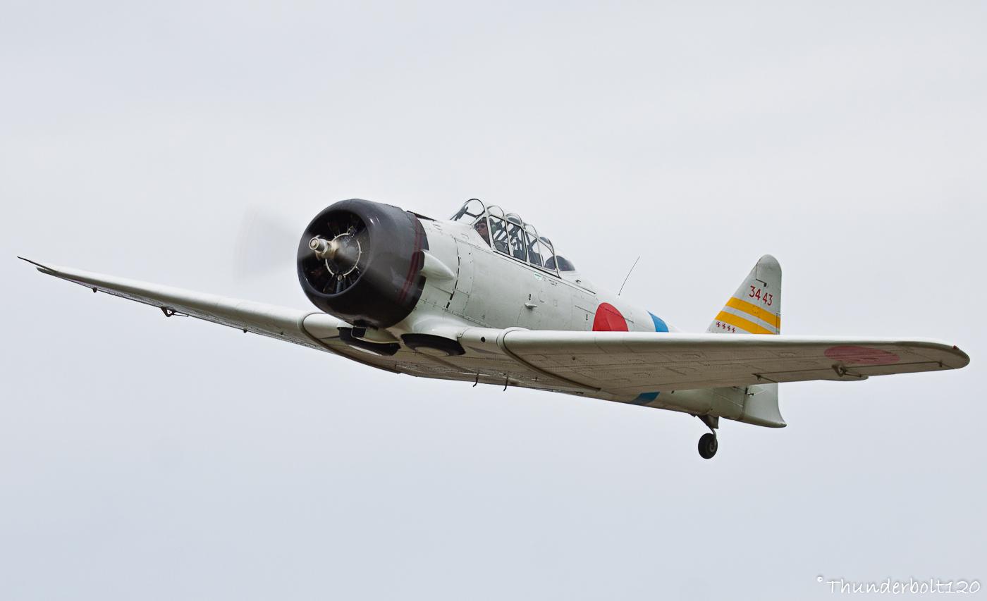 North American AT-6B Texan - Zero F-AZRO