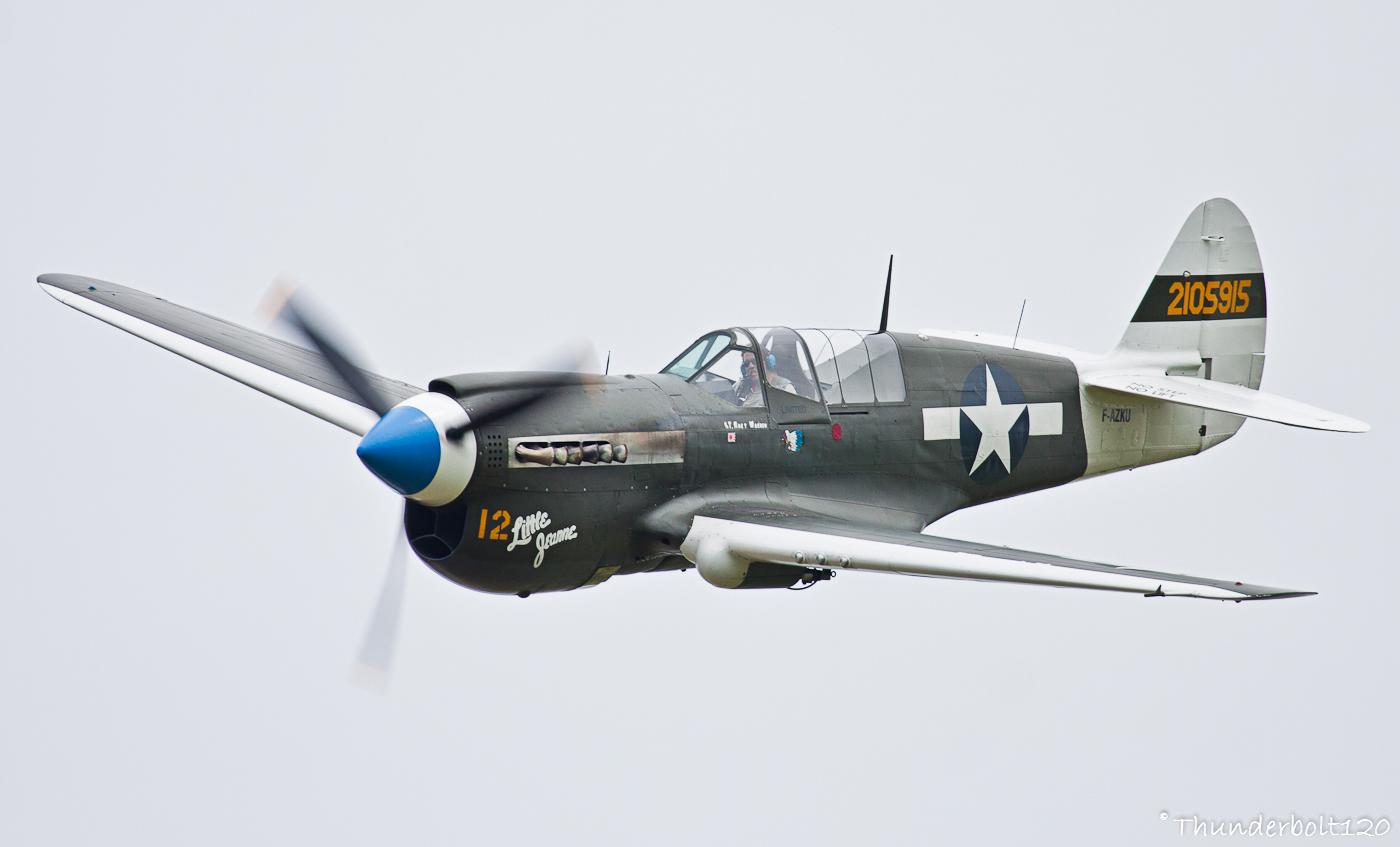 Curtiss P-40N Warhawk F-AZKU / 2105915