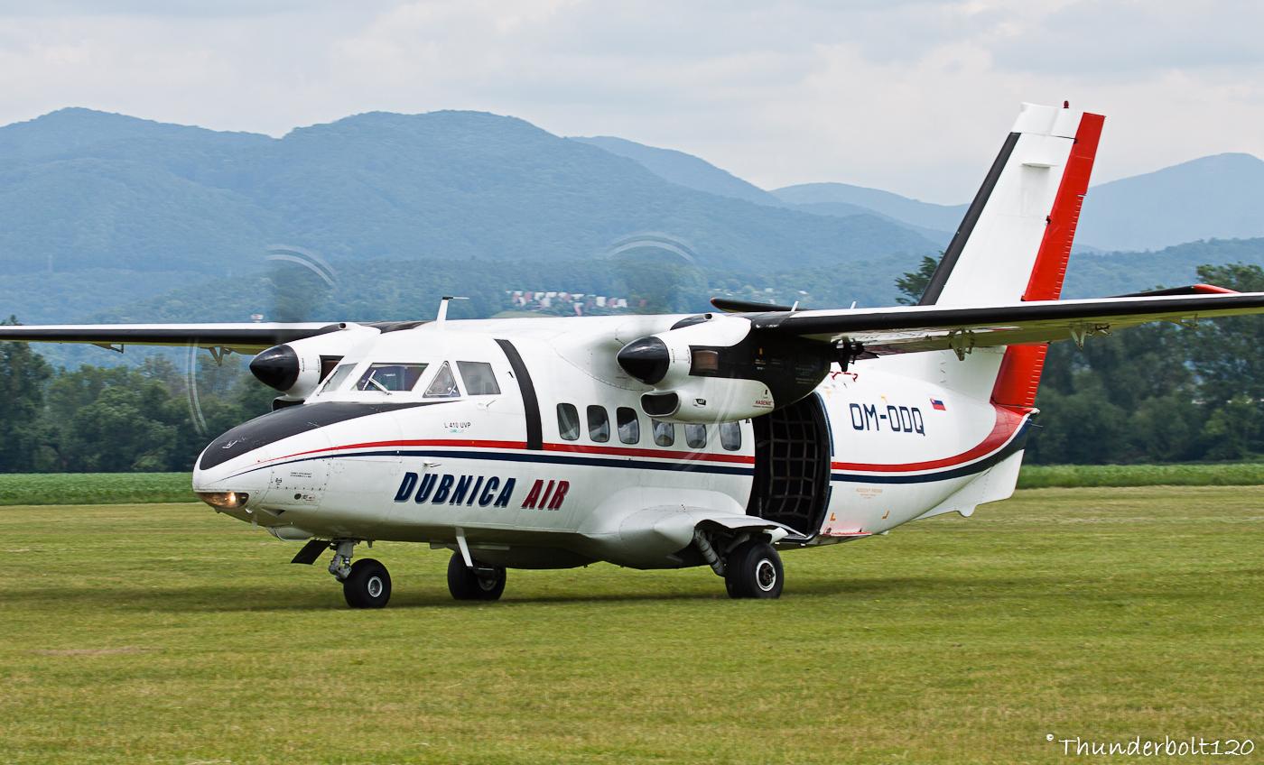 Let L-410 UVP Turbolet OM-ODQ