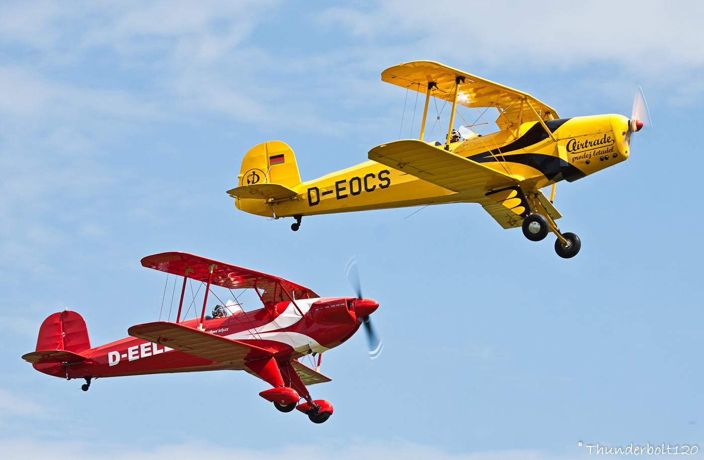 Casa 1-131E Jungmann and Aero C-104S