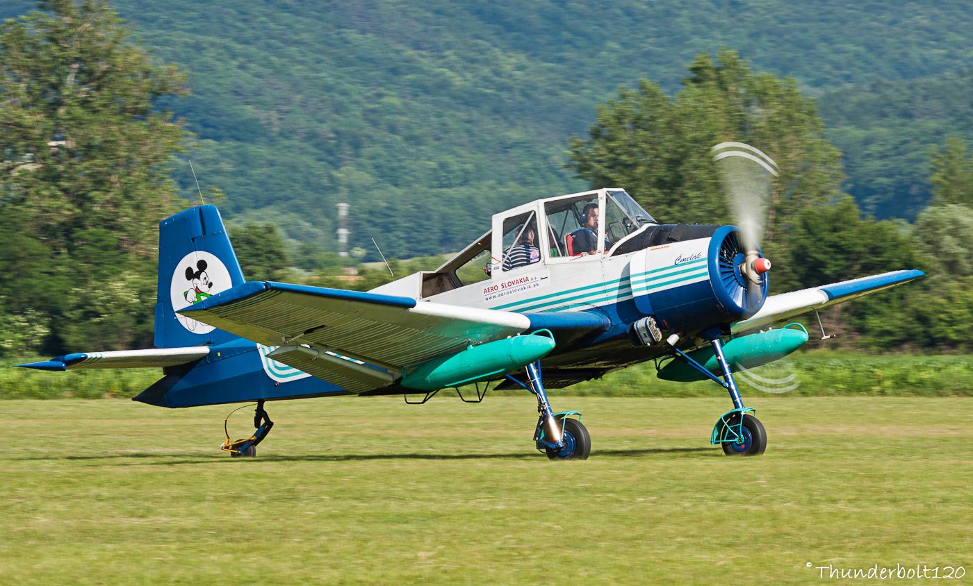 Zlin Z-37A Cmelak OM-GJT