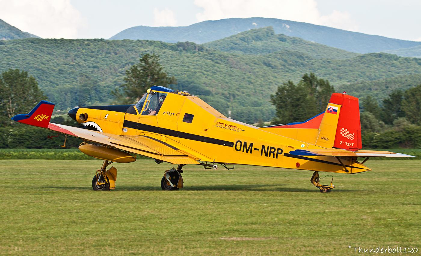 Zlin Z-137T Turbocmelak OM-NRP
