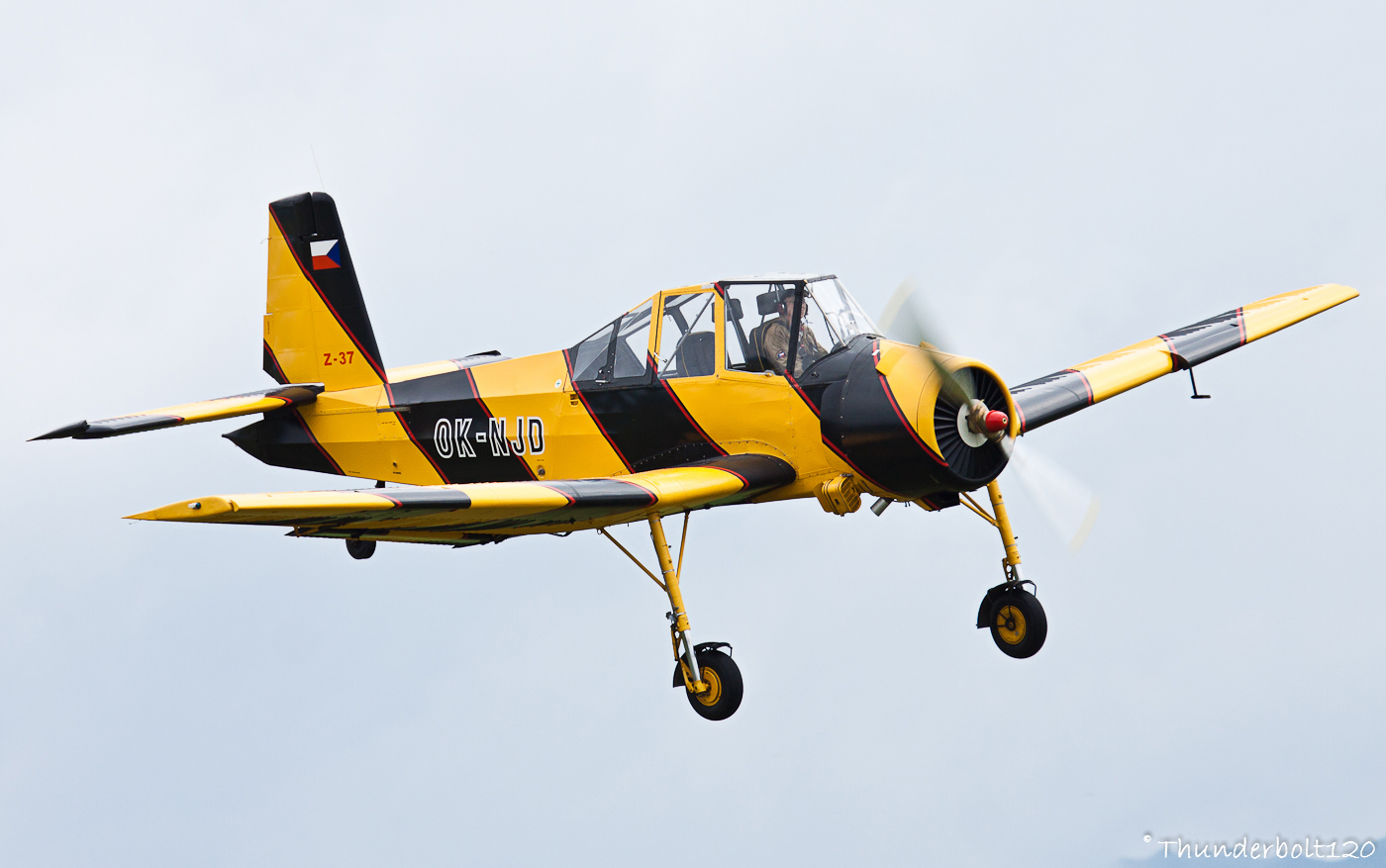 Zlin Z-37A Cmelak OK-NJD