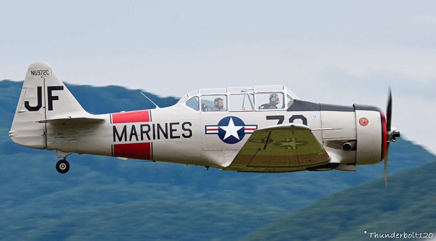 North American SNJ-5 Texan N6972C