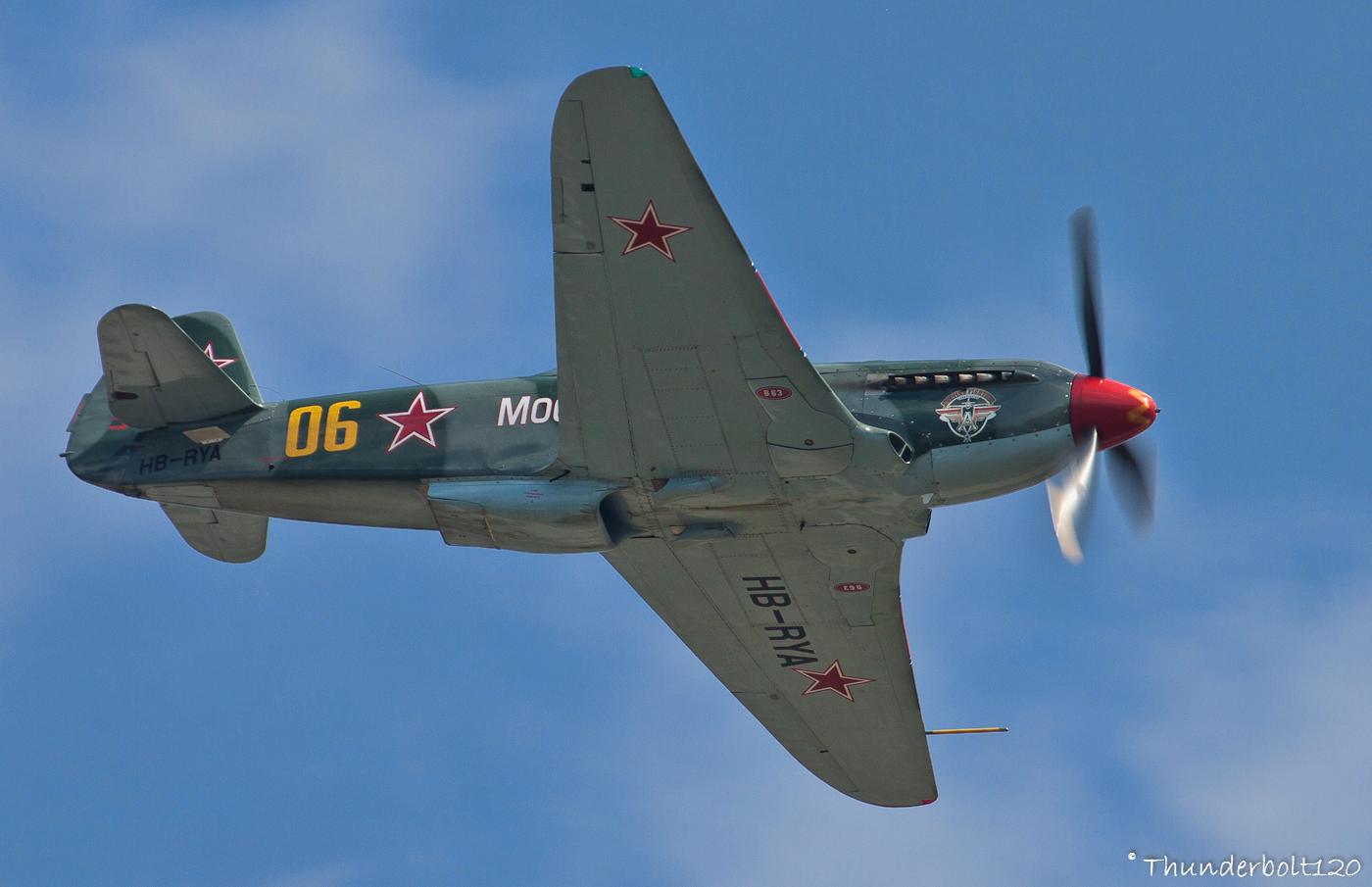 Yakovlev Yak-9UM HB-RYA